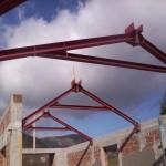 Capriate in ferro – centro commerciale Amiternum L'Aquila
