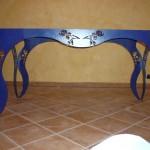 Particolare decori tavolo