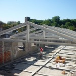 Rinforzi strutturali mediante rifacimento capriate in ferro