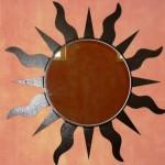 Specchio in ferro realizzato con l'ausilio del taglio al plasma