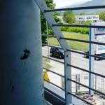 Particolare parapetto per balcone