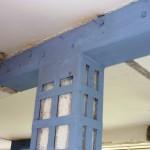 Rinforzi strutturali in ferro nodo pilastro – trave