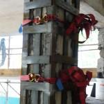Rinforzi strutturali su pilastri in cemento armato