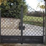 cancello a due ante