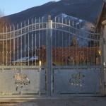 Cancello scorrevole in ferro