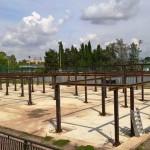 Montaggio struttura metallica per Università degli studi Roma tre