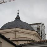 Particolare cupola della Basilica di San Bernardino L'Aquila